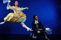 Baroque dance. Courtesy of Indiana University